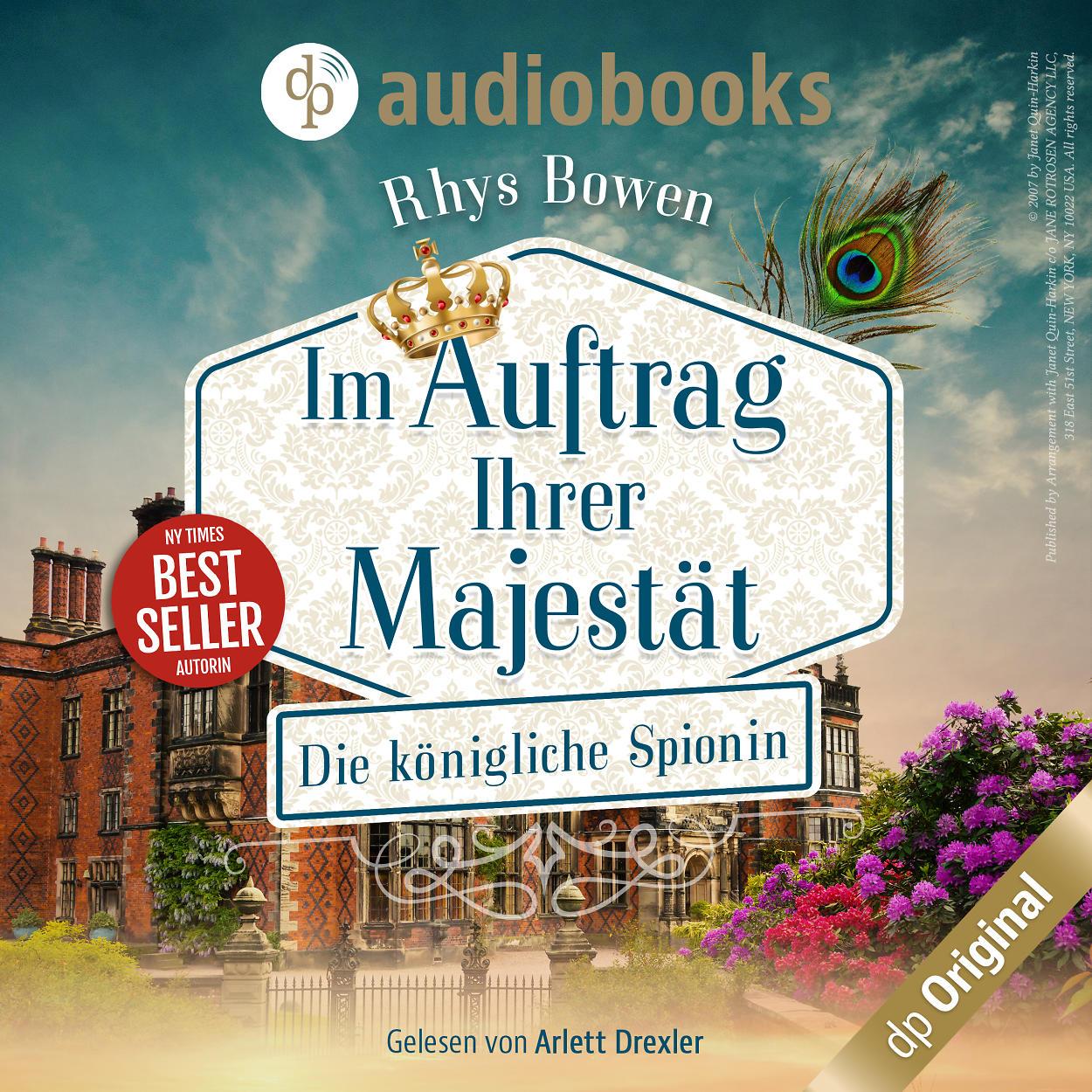Audiobook - Die königliche Spionin